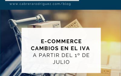 NOVEDADES EN RELACIÓN CON EL IVA DEL COMERCIO ELECTRÓNICO