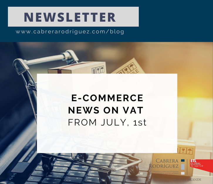 NEW DEVELOPMENTS IN RELATION TO THE E-COMMERCE VAT